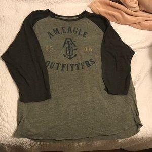 2 American Eagle Shirts